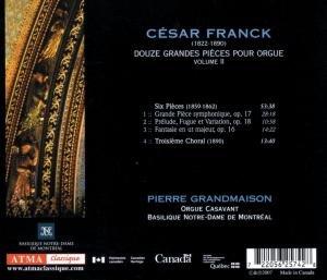 Franck: Twelve Pieces for Organ,vol.2