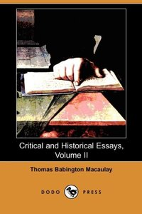 CRITICAL & HISTORICAL ESSAYS V