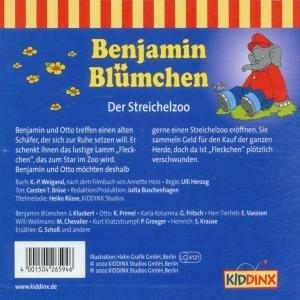 Benjamin Blümchen 094. Der Streichelzoo. CD