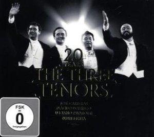 DREI TENÖRE JUBILÄUMS-EDITION (CD+DVD)