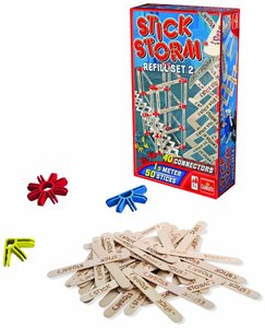 Goliath 80519024 - Stick Storm, 50 Sticks, 40 Connectors Nachfül