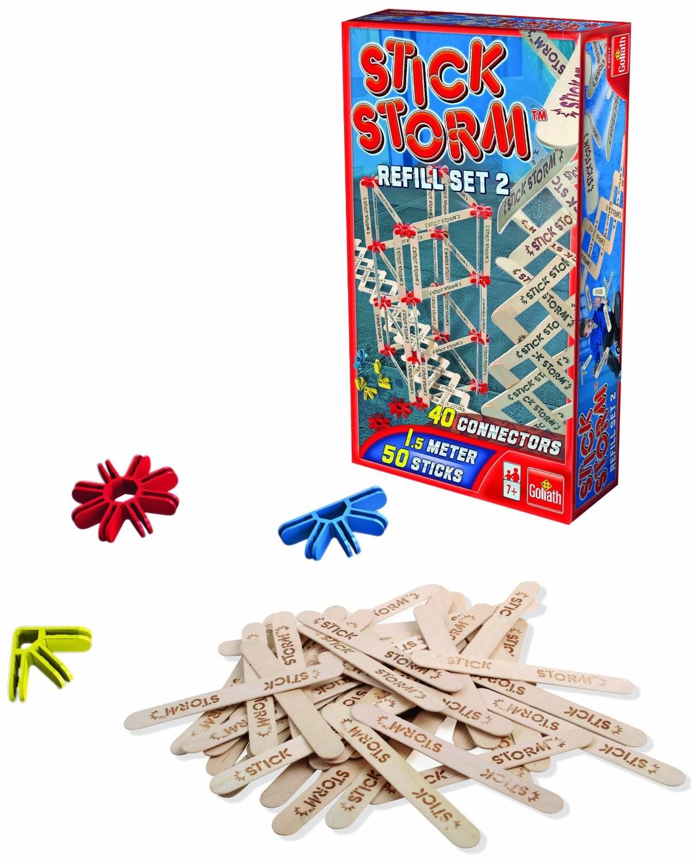 Goliath 80519024 - Stick Storm, 50 Sticks, 40 Connectors Nachfül - zum Schließen ins Bild klicken