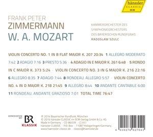 Violinkonzerte 1,3+4