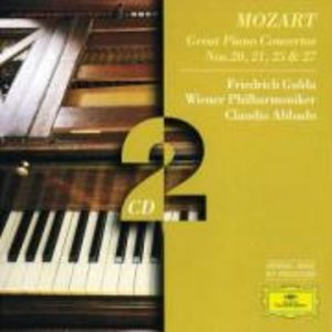 Klavierkonzerte 20,21,25,27
