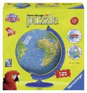 Ravensburger 12326 - XXL Kindererde 3D, 180 Teile puzzleball®