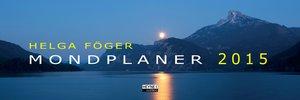 Mondplaner 2015. Tischplaner