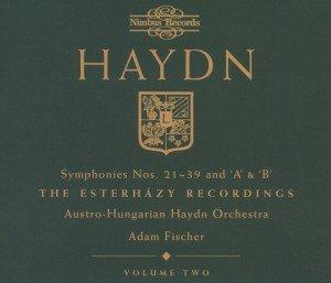 Sinfonien 21-39