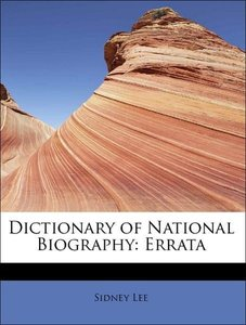 Dictionary of National Biography: Errata