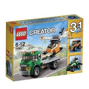 LEGO® Creator 31043 - Chopper-Transporter