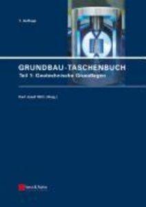Grundbau-Taschenbuch. 3 Bde.