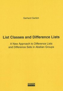 List Classes and Difference Lists