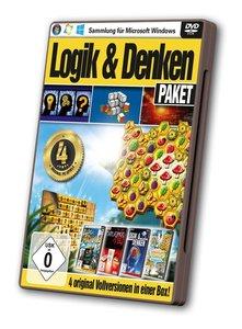 Logik & Denken Paket - 4 Original-Vollversionen in einer Box!