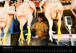 INDIEN bei der Arbeit (Tischkalender 2016 DIN A5 quer)