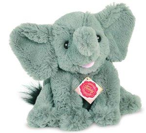 Teddy Hermann 90724 - Elefant, sitzend, 22 cm