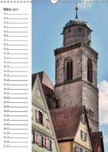 Dinkelsbühl - Romantisches Kleinod (Wandkalender 2017 DIN A3 hoc