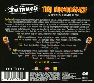 Tiki Nightmare-Live 2002 (2CD+DVD)