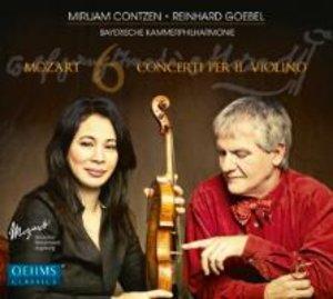 6 Violinkonzerte