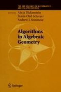 Algorithms in Algebraic Geometry