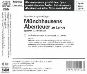Münchhausens Abenteuer Zu L.
