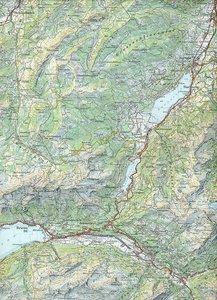 Swisstopo 1 : 100 000 Brünigpass