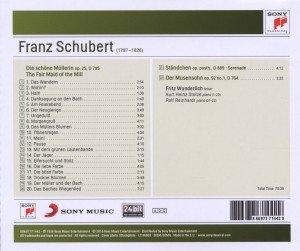 Die schöne Müllerin op.25,D 795