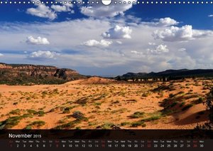 Magnificent America - UK Version (Wall Calendar 2015 DIN A3 Land