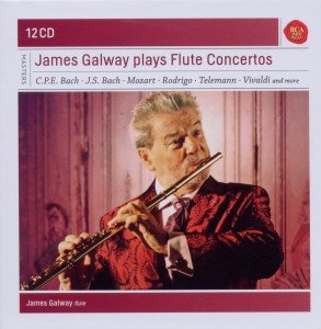 James Galway plays Flute Concertos-Sony Classic