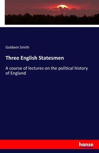 Three English Statesmen