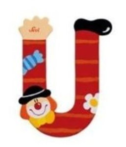 Sevi 81757 - Buchstabe: Clown U