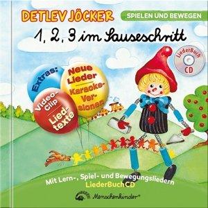 1,2,3 im Sauseschritt - Die LiederBuchCD