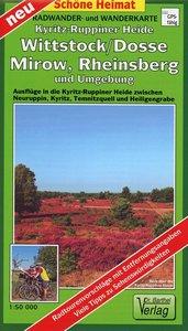 Kyritz-Ruppiner Heide, Wittstock/Dosse, Mirow, Rheinsberg und Um