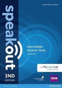 Speakout Intermediate Students' Book with DVD-ROM and MyEnglish