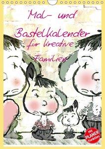 Mal- und Bastelkalender für kreative Familien