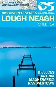 Irish Discovery Series 14 Lough Neagh 1 : 50 000