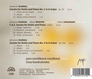 Violinsonaten 1 & 2/F.A.E.-Sonate