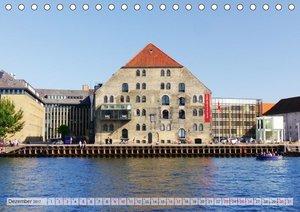 Kopenhagen. Dänemarks schöne bunte Metropole (Tischkalender 2017