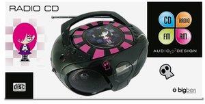 CD/Radio CD45 (Emo/schwarz)