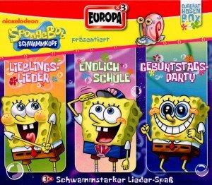 Sponge Bob präsentiert-Quadrathosenbox