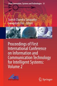 Proceedings of First International Conference on Information and