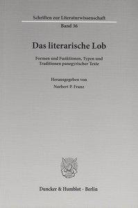 Das literarische Lob