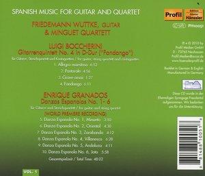 Spanische Musik Für Gitarre Und Streichquartett