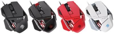 R.A.T. 3 Gaming Mouse für PC und Mac, rot - zum Schließen ins Bild klicken