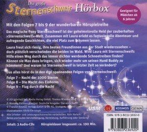 Die große Sternenschweif Hörbox. Folge 7-9