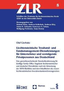 Liechtensteinische Treuhand- und Fondsmanagement-Dienstleistunge