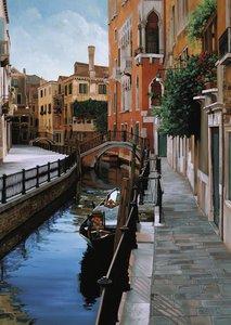 Venezianische Impressionen. Puzzle 1000 Teile