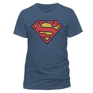Vintage Logo (T-Shirt,Blau,Größe XL)