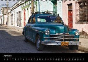 Cuba Cars (Wandkalender 2016 DIN A2 quer)