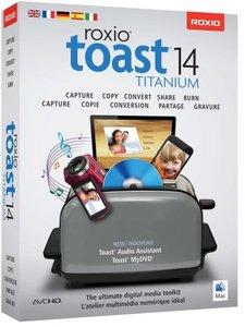 Roxio Toast 14 Titanium/CD-ROM