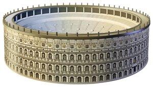 Kolosseum. 3D Puzzle-Bauwerke 216 Teile