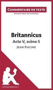 Britannicus de Racine - Acte V, scène 5